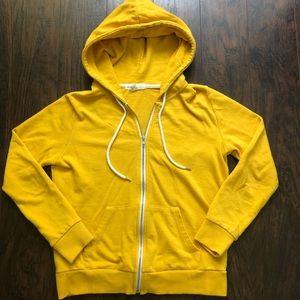 F21 zip up hoodie M